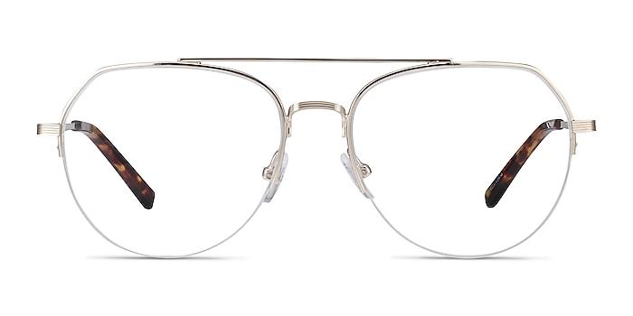 Breathe Gold Metal Eyeglass Frames from EyeBuyDirect