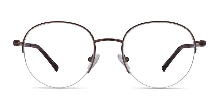 Written Bronze Metal Eyeglass Frames from EyeBuyDirect