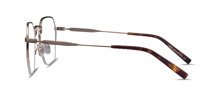 Cruz Rose Gold Metal Eyeglass Frames from EyeBuyDirect