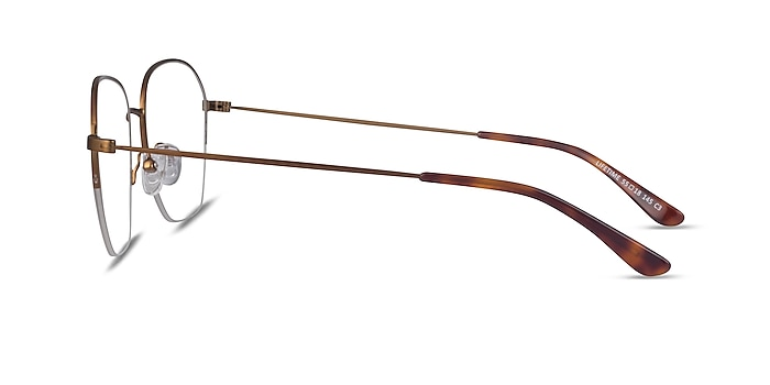 Lifetime Bronze Metal Eyeglass Frames from EyeBuyDirect