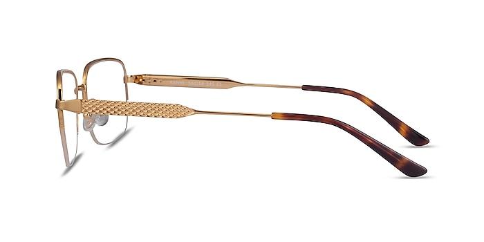 Kanye Doré Métal Montures de lunettes de vue d'EyeBuyDirect