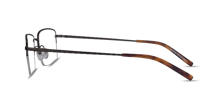 Process Gunmetal Métal Montures de lunettes de vue d'EyeBuyDirect
