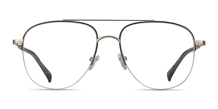 Universe Green Gold Métal Montures de lunettes de vue d'EyeBuyDirect