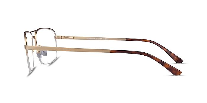 Yorkville Doré Métal Montures de lunettes de vue d'EyeBuyDirect