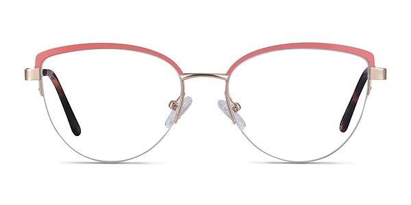 Anacostia Pink Gold Métal Montures de lunettes de vue