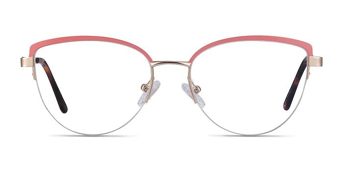 Anacostia Pink Gold Metal Eyeglass Frames from EyeBuyDirect