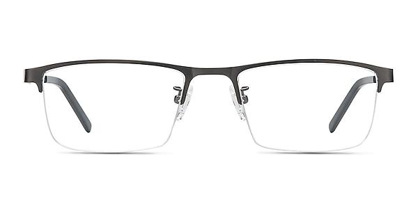 Algorithm Gunmetal Metal Eyeglass Frames