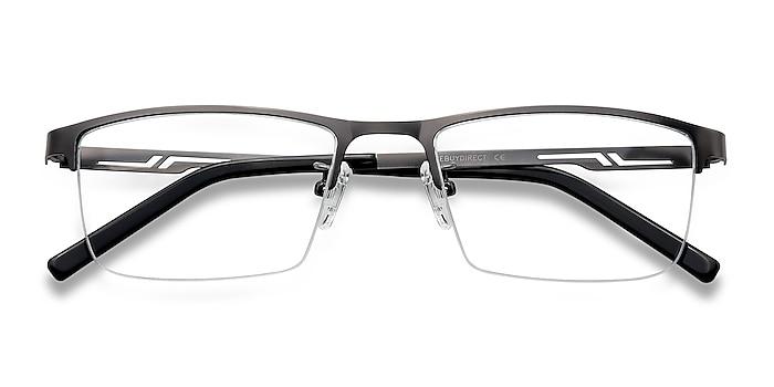Gunmetal Algorithm -  Lightweight Metal Eyeglasses