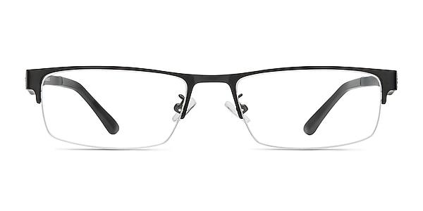 Beau Noir Plastic-metal Montures de lunettes de vue