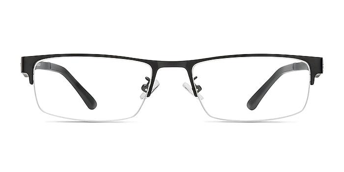 Beau Noir Plastic-metal Montures de lunettes de vue d'EyeBuyDirect