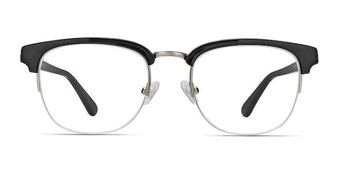 Genbu  Black  Acetate-metal Eyeglass Frames from EyeBuyDirect