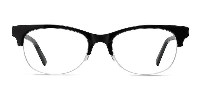 Luna Black Acetate Eyeglass Frames from EyeBuyDirect