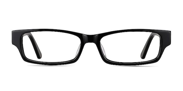 Dieppe Black Acetate Eyeglass Frames from EyeBuyDirect