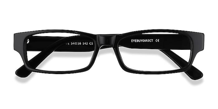 Black Dieppe -  Acetate Eyeglasses