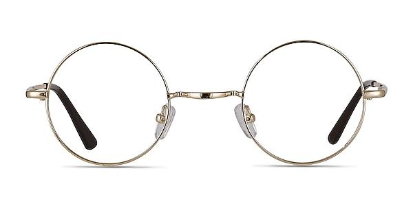 Abazam Golden Metal Eyeglass Frames