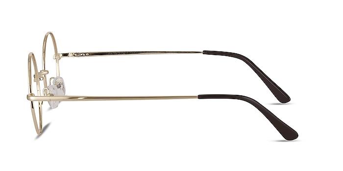 Abazam Golden Metal Eyeglass Frames from EyeBuyDirect