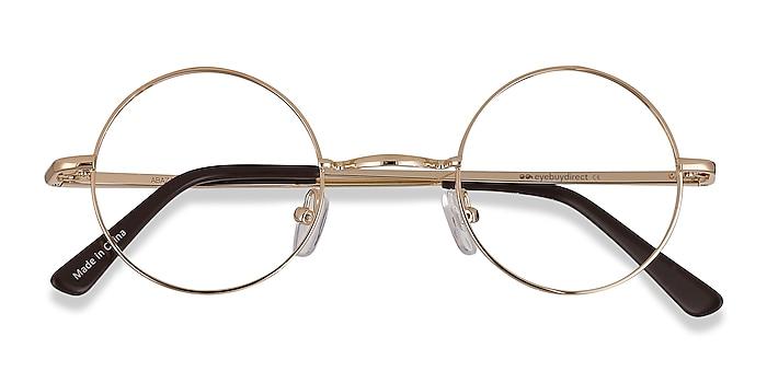 Golden Abazam -  Vintage Metal Eyeglasses