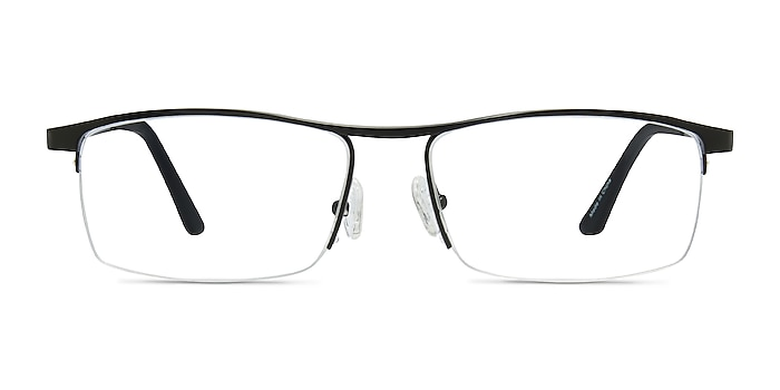 Lake Noir Titane Montures de lunettes de vue d'EyeBuyDirect