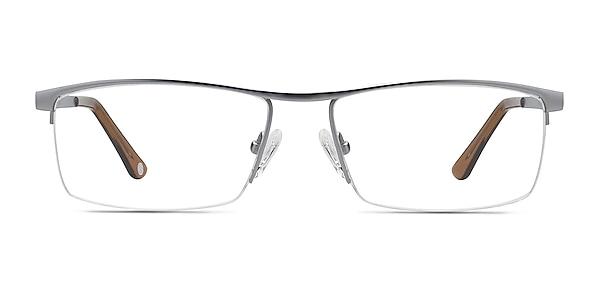Lake Gray Titanium Eyeglass Frames
