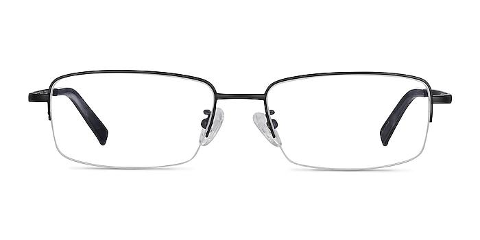 Remington Black Titanium Eyeglass Frames from EyeBuyDirect