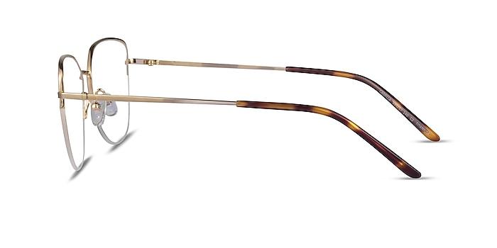 Camilla Gold Titanium Eyeglass Frames from EyeBuyDirect