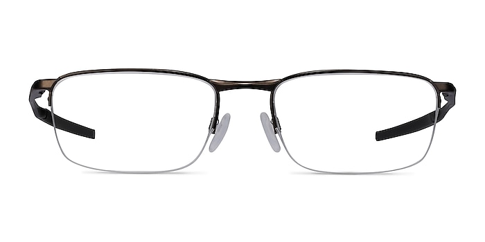 Oakley Barrelhouse 0.5 Pewter Metal Eyeglass Frames from EyeBuyDirect