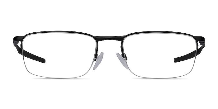 Oakley Barrelhouse 0.5 Matte Black Metal Eyeglass Frames from EyeBuyDirect
