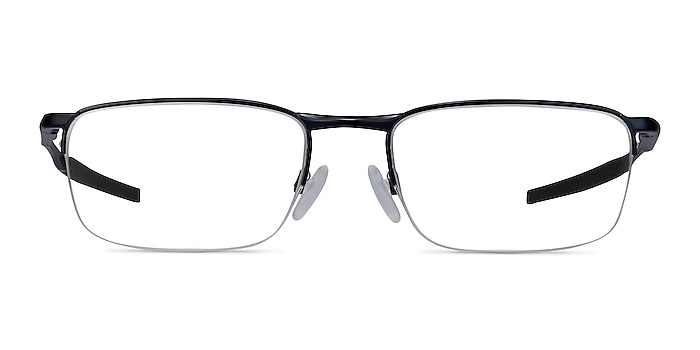 Oakley Barrelhouse 0.5 Matte Midnight Metal Eyeglass Frames from EyeBuyDirect