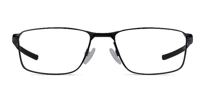 Oakley Socket 5.0 Satin Black & Gray Metal Eyeglass Frames from EyeBuyDirect