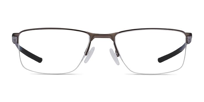 Oakley Socket 5.5 Satin Pewter Metal Eyeglass Frames from EyeBuyDirect