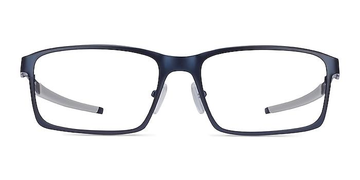 Oakley Base Plane Matte Midnight Metal Eyeglass Frames from EyeBuyDirect