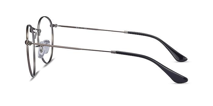 Ray-Ban RB3447V Gunmetal Metal Eyeglass Frames from EyeBuyDirect