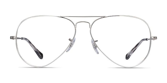 Ray-Ban RB6489 Silver Metal Eyeglass Frames from EyeBuyDirect