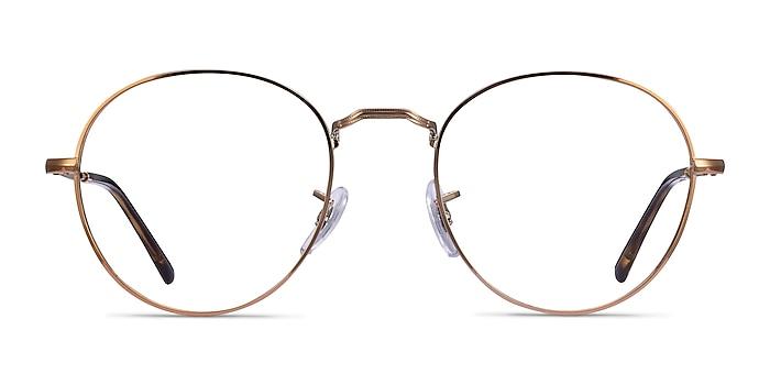 Ray-Ban RB3582V Bronze Copper Metal Eyeglass Frames from EyeBuyDirect