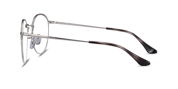 Ray-Ban RB3947V Silver Metal Eyeglass Frames from EyeBuyDirect