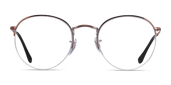 Ray-Ban RB3947V Bronze Copper Metal Eyeglass Frames
