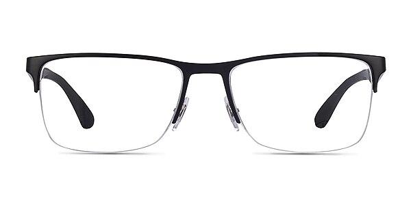 Ray-Ban RB6335 Black Metal Eyeglass Frames