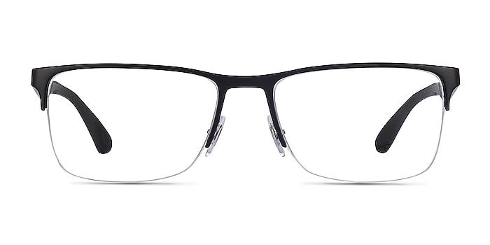 Ray-Ban RB6335 Black Metal Eyeglass Frames from EyeBuyDirect