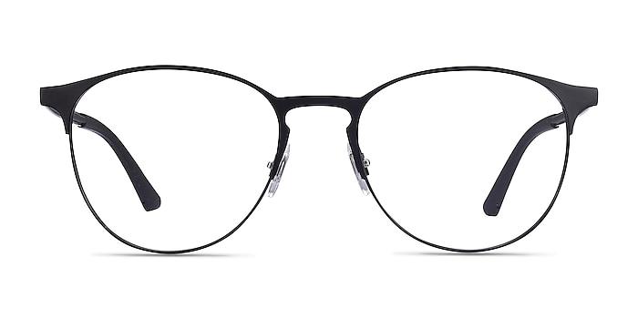 Ray-Ban RB6375 Black Metal Eyeglass Frames from EyeBuyDirect