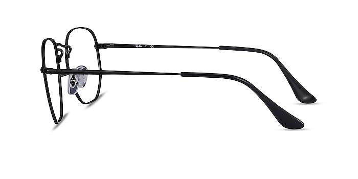 Ray-Ban RB6448 Black Metal Eyeglass Frames from EyeBuyDirect
