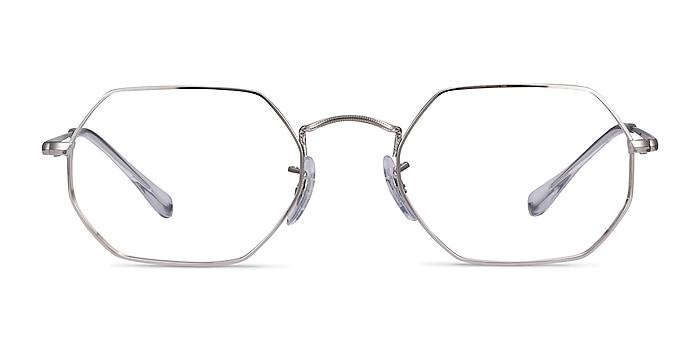 Ray-Ban RB6456 Silver Metal Eyeglass Frames from EyeBuyDirect