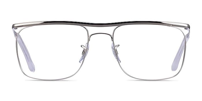 Ray-Ban RB6519 Silver Metal Eyeglass Frames from EyeBuyDirect