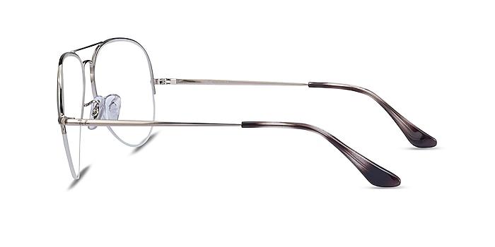 Ray-Ban RB6589 Silver Metal Eyeglass Frames from EyeBuyDirect