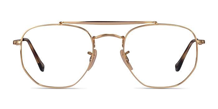 Ray-Ban RB3648V Gold Metal Eyeglass Frames from EyeBuyDirect