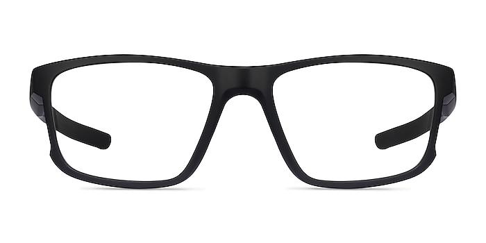 Oakley Hyperlink Satin Black Plastic Eyeglass Frames from EyeBuyDirect