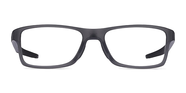 Oakley Chamfer MNP Gray Plastic Eyeglass Frames