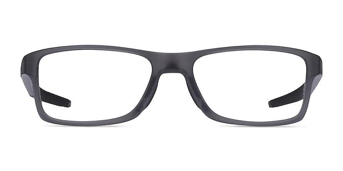 Oakley Chamfer MNP Gray Plastic Eyeglass Frames from EyeBuyDirect