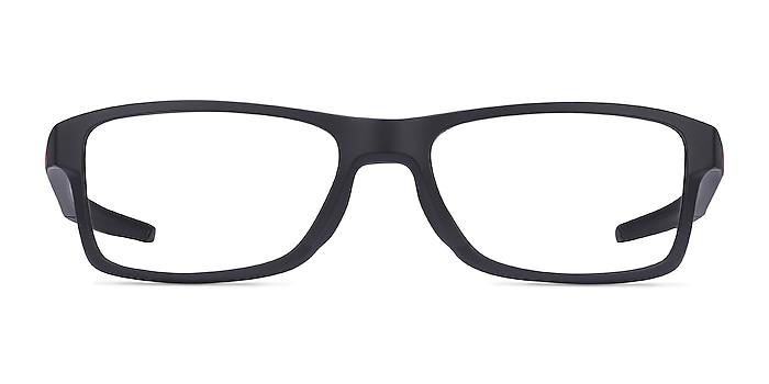 Oakley Chamfer MNP Black Plastic Eyeglass Frames from EyeBuyDirect