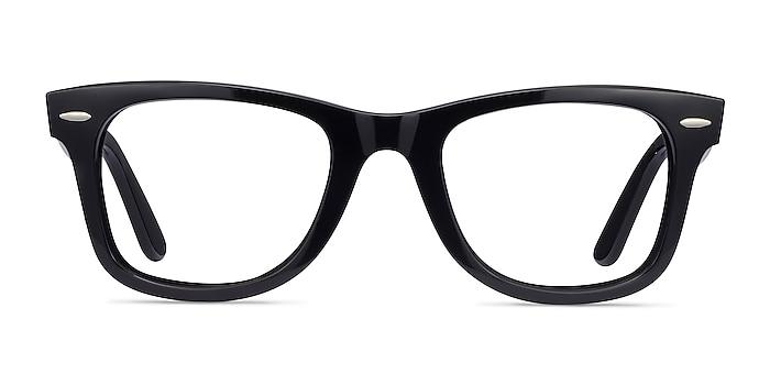 Ray-Ban RB4340V Black Plastic Eyeglass Frames from EyeBuyDirect