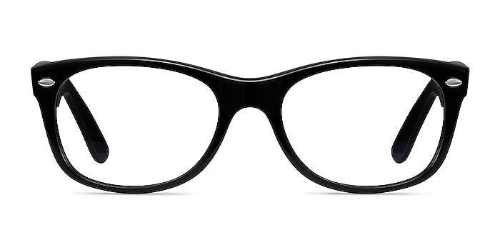 Ray-Ban RB5184 Black Acetate Eyeglass Frames from EyeBuyDirect